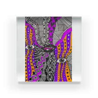 Yuta Kurosawa (サイケデリックミュージック) Acrylic Block