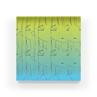 Drooping Eyes Acrylic Block
