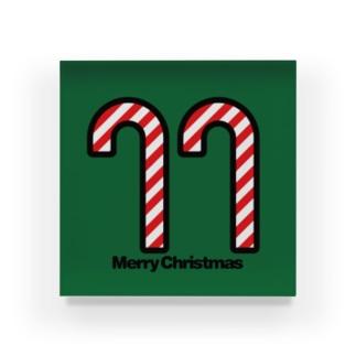 クリスマスオーナメント キャンディー Acrylic Block