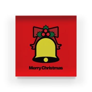 クリスマスオーナメント クリスマスベル Acrylic Block