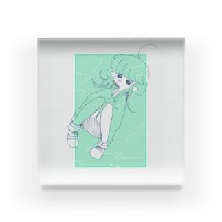 メロンソーダの夢 Acrylic Block