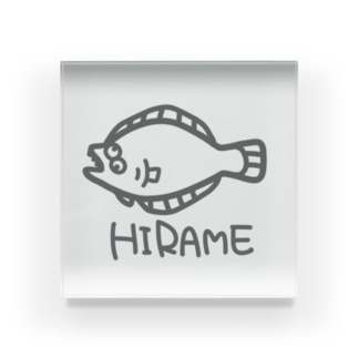 HIRAME Acrylic Block