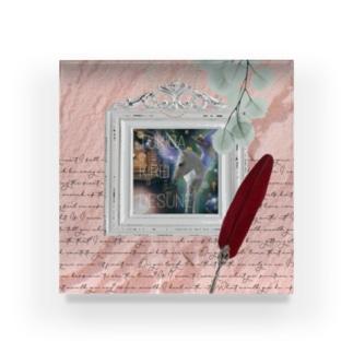 【引退馬支援企画】TUKGA KIREI DESUNE ウォールTYPE Acrylic Block