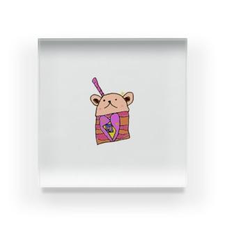 アイス食べたい Acrylic Block