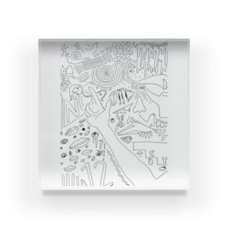 瞑想 Acrylic Block