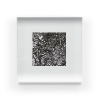 アルミホイル Acrylic Block