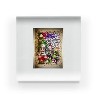 花🌼の妖精さん Acrylic Block