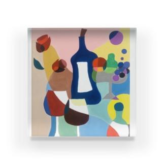 ワイン Acrylic Block