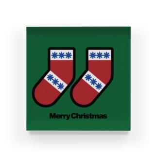 クリスマスオーナメント 靴下 Acrylic Block