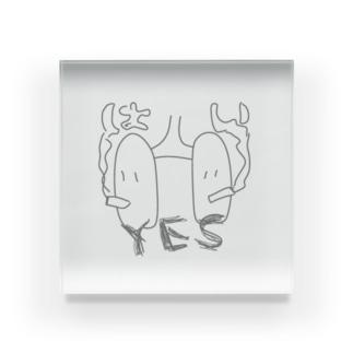 Yes肺くん Acrylic Block