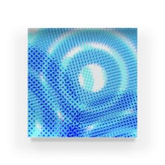 波紋 Acrylic Block