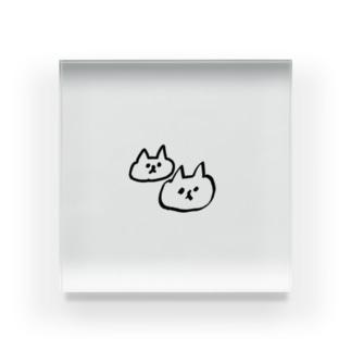 ゆるしゅーる王国 ネコ Acrylic Block