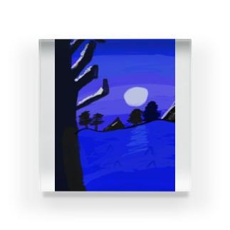 ナイトスカイ Acrylic Block