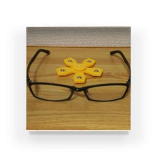 メガネとスピナー Acrylic Block