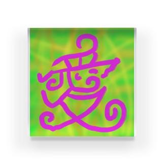 JUSEN SETA 【瀬田純仙】COOL JAPAN  愛のぬくもり Acrylic Block
