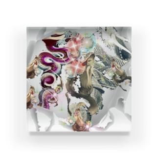 猫族*犬族の部屋『願叶』 Acrylic Block