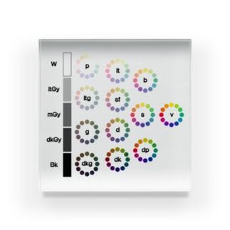 トーン概念図 Acrylic Block