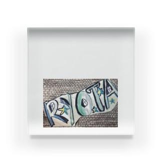 RYOTAくんへ Acrylic Block