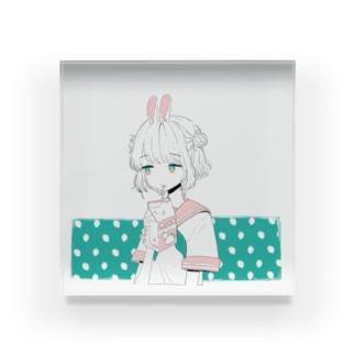 イチゴミルク Acrylic Block