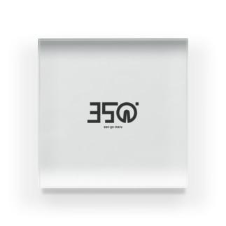 ブランドロゴさん Acrylic Block