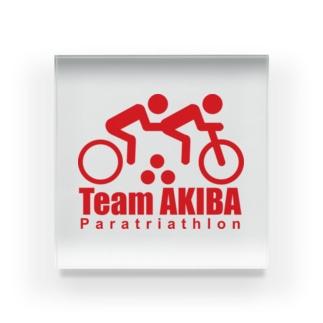 team-akiba2 Acrylic Block