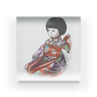 市松人形 聖(ひじり) Acrylic Block
