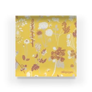 野の草花 Acrylic Block