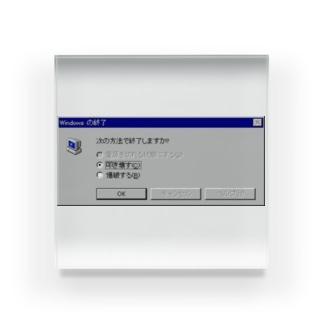 Windows エラーメッセージ Acrylic Block