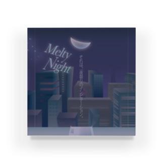 Melty Night / 株式会社マリーナ水島観光 Acrylic Block