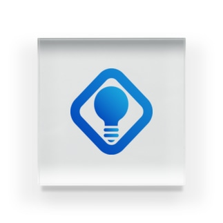 RASH LLC公式ロゴ(大) Acrylic Block