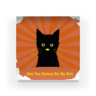 Are You Gonna Be My Girl 002 Acrylic Block