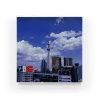 東京の象徴 Acrylic Block