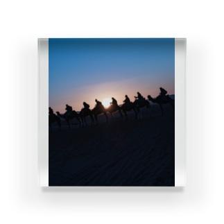 サハラ砂漠 Acrylic Block
