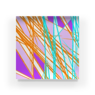 色イロあるよね、人生。 Acrylic Block