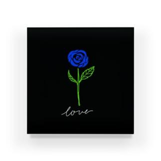 青い薔薇 Acrylic Block