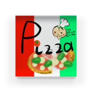 ピザの箱 Acrylic Block