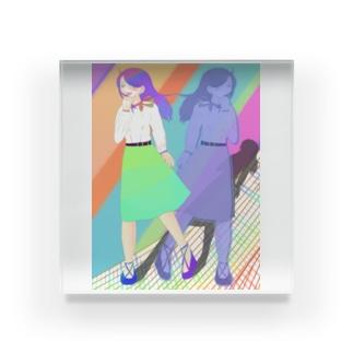 彩りの中で Acrylic Block