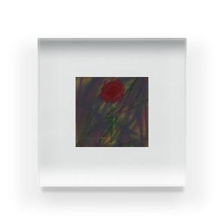 バラ Acrylic Block
