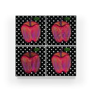 🍎🍎4個のりんご🍎🍎 Acrylic Block