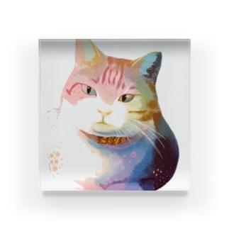 うちのネコ Acrylic Block