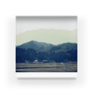 柏崎の田園 Acrylic Block