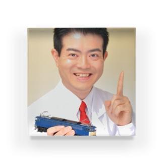 鉄道博士 / Dr.Railway Acrylic Block