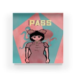 五角(合格)オクトパス(pass)2 Acrylic Block