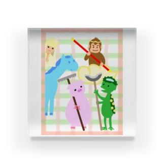 カワイイ西遊記 for Kids! Acrylic Block