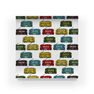 電車 Acrylic Block