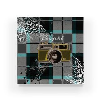 時を撮るカメラ Acrylic Block
