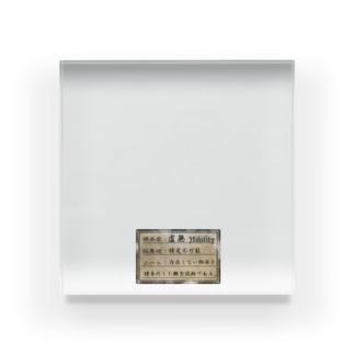 虚無の標本 Acrylic Block