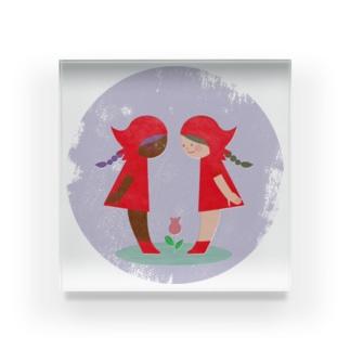 赤い頭巾 Acrylic Block