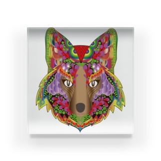 オオカミ-2 Acrylic Block