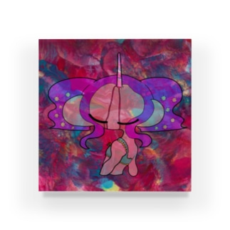 ユニコーンの子 Acrylic Block